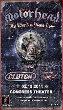 Motorhead with Clutch, Valient Thorr
