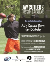 The Jay Cutler Foundation 80's Dance Party for Diabetes with BILLY OCEAN and The Breakfast Club