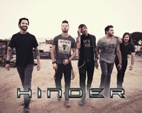 Hinder with Aranda / Devour The Day / Acidic