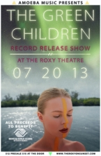 The Green Children : Record Release Show plus Green Light Theory / Little Bear / Canto / Megagone / The Thirstbusters