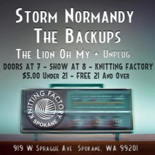 Locals Live featuring Storm Normandy / The Backups / Lion Oh My! / Unplug