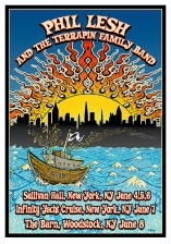 Phil Lesh & the Terrapin Family Band : 3-Show Pass