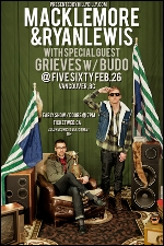 Macklemore & Ryan Lewis with special guests Grieves and Budo