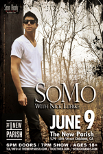 Somo With Special Guest Nick Luebke