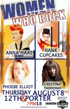 Anna Haas Presents Women Who Rock featuring Hank & Cupcakes, Anna Haas & The Effect, Cristina Taddonio & Phoebe Elliot