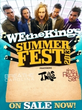 We the Kings featuring Breathe Carolina / T. Mills / The Ready Set / Keep It Cutes