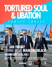 Tortured Soul featuring Libation (The Global Soul Experience) with Ian Friday / Manchildblack