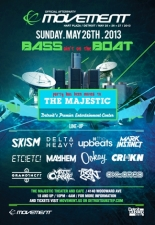Bass ain't on the Boat featuring The Upbeats / Skism / Delta Heavy / Mark Instinct / CRNKN / Ookay / ETC!ETC! / Mayhem / Grandtheft / Matt Clarke / Mark 8en Moss / Oktored