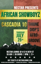 African Showboyz with Cascadia 10' and Thione Diop's Afro Groove