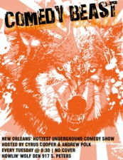 In The Den: Comedy Beast FREE SHOW