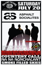Asphalt Socialites featuring Courtesy Call / Na Na Nonchalant / Smoke Filled Skies