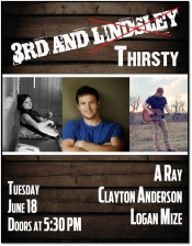 3rd And Thirsty featuring A Ray, Logan Mize, Clayton Anderson