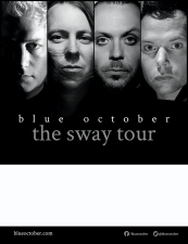 Blue October featuring The Unlikely Candidates / Tori Vasquez