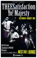 THEESatisfaction with Yo! Majesty, Gift Uh Gab, Jusmoni + WD4D, OCnotes