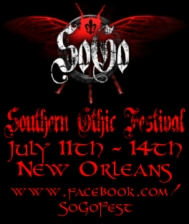 IN THE DEN : SOUTHERN GOTHIC FESTIVAL featuring The Endless, Kali Ra, D:kunstruct, Cyberia Organica