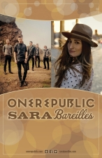 OneRepublic & Sara Bareilles with special guests Serena Ryder