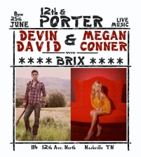 Devin David with Megan Conner & BRIX