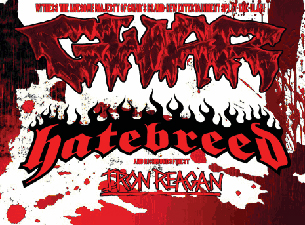 GWAR / Hatebreed with Iron Regan