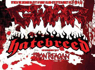 GWAR / Hatebreed with Iron Regan