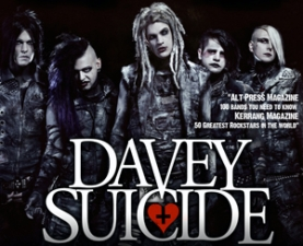 Davey Suicide plus The Bunny the Bear / The Defiled / Candy Brain / Demon Boy