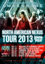 Amaranthe plus Kobra & The Lotus / Sirion / Sign of Sirin