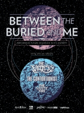 Between The Buried And Me with The Faceless / The Contortionist / The Safety Fire