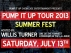 Pump It Up Tour 2013 - Summer Fest featuring Vikki Franks / TyaMac / Paris Blu / And More...