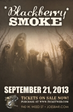 Blackberry Smoke with Brian Davis