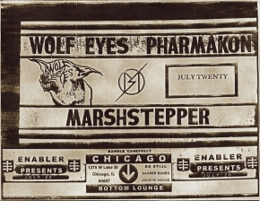 Wolf Eyes featuring Pharmakon / Marshstepper