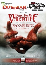 Bullet for My Valentine featuring Black Veil Brides, Stars In Stereo & Throw the Fight