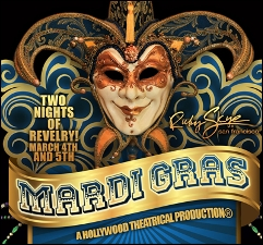 MARDI GRAS with BAD BOY BILL & CONGOROCK and ST. JOHN & BEN SEAGREN