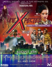 The Unexpected Tour featuring Jennel Garcia, Paige Thomas & more.
