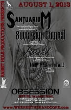 SANTUARIUM with SOVEREIGN COUNCIL / BASALISK / I NOW WALK INTO THE WILD