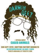 Darwin Deez / Caged Animals, Celestial Shore