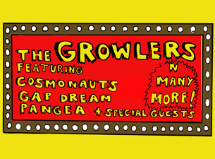 BURGERAMA : Caravan of Stars Tour 2013 ft. The Growlers with special guests Cosmonauts, Gap Dream & together PANGEA
