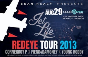 Jet Life Presents: The Red Eye Tour featuring Young Roddy, Corner Boy P & Fiend