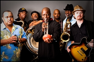 The Dirty Dozen Brass Band and The Soul Rebels Brass Band with special guest Leo Nocentelli