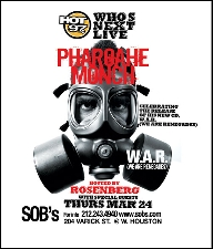 Who's Next Live featuring Pharoahe Monch, hosted by Rosenberg with special guests