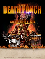 Five Finger Death Punch featuring Escape the Fate / Miss May I / Gemini Syndrome