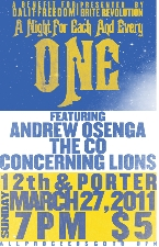 Andy Osenga, The CO, Concerning Lions