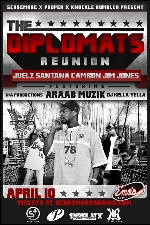 Dipset / The Diplomats reunion feat. Juelz Santana, Camron, Jim Jones featuring Arrab Muzik / DJ Hella Yella