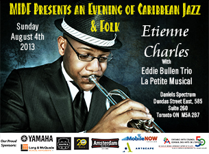 An Evening of Caribbean Jazz & Folk featuring Etienne Charles