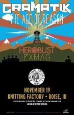 Gramatik: Age Of Reason Fall Tour 2013 featuring HEROBUST / EX MAG