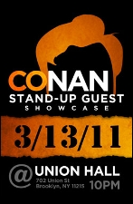 Conan O'Brien Stand-Up Guest Showcase