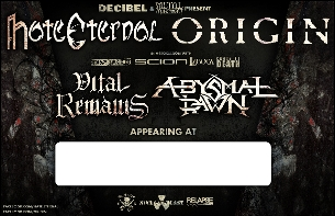 Hate Eternal // Origin / Vital Remains / Abysmal Dawn / SKREW