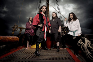 Alestorm plus Trollfest / Gypsyhawk, Imperial Crypt, From The Depths