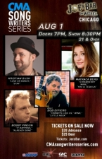CMA Songwriters Series featuring Matraca Berg, Kristian Bush, Bobby Pinson, and Host Bob DiPiero