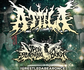 Attila featuring Upon a Burning Body / The Plot In You