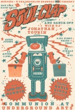 New York Night Train SOUL CLAP & DANCE-OFF featuring DJ JONATHAN TOUBIN with special guest selector EDDIE GIEDA (of Guitar Army / An Albatross) & Low Cut Connie