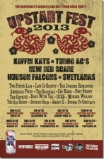 Upstart Fest 2013 featuring Koffin Kats / Turbo AC's / Hudson Falcons / Svetlanas (U.S.S.R.) / The Jukebox Romantics